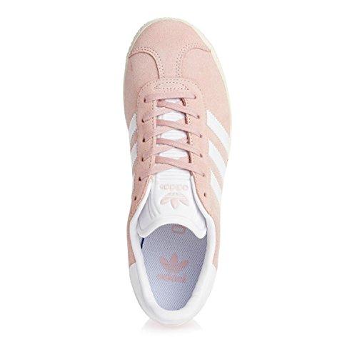 adidas Gazelle J, Zapatillas de Deporte Unisex Niños Rosa (Roshel/Ftwbla/Dormet 000)
