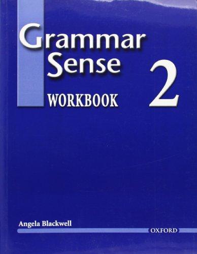 Grammar Sense 2 (Workbook)