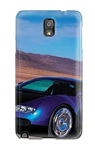 Awesome Defender Tpu Hard Case Cover For Galaxy Note 3- Bugattiveyronexoticcar B4JIPMZYZ2HDCG3K