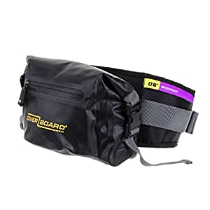 OverBoard Waterproof Waist Pack, Black, 2-Liter