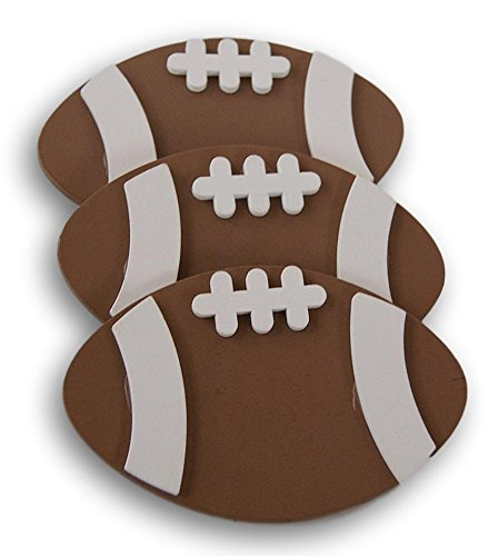 Darice Small Painted Wood Cutout - Football Shape