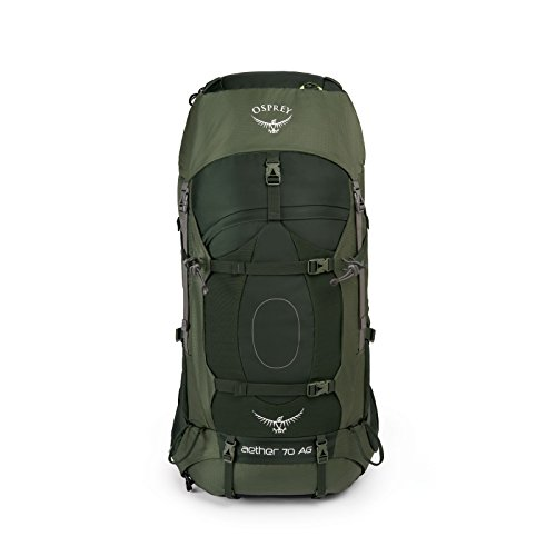 Osprey Packs Aether Ag 85 Backpack, Neptune Blue, Sm, Small