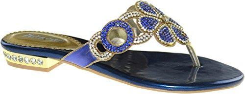 Cinturino Scarpe Blue Con Alla Caviglia Cfp Donna qTzwgA
