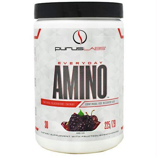 Purus Labs Everyday Amino | (Natural BlackBerry Cherry, 30 Servings)