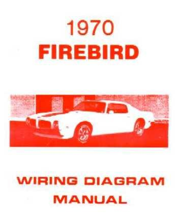 amazon com 1970 pontiac firebird trans am wiring diagram schematic rh amazon com