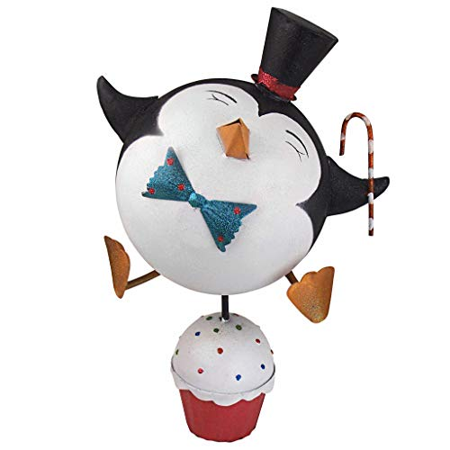 """Design Toscano Cupcake Chorus Line Fred The Holiday Penguin Statue, 19"""", Full Color from Design Toscano"""