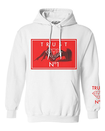Popular+Poison+Trust+No1+Babe+White+Hoodie%2C+Large