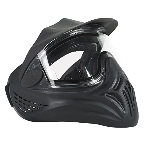 Mask Olive Paintball (Empire Helix Goggle Thermal Lens - Black Header)