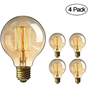 Amazon.com: ctkcom clásico Edison foco (4 unidades)-Luz de ...