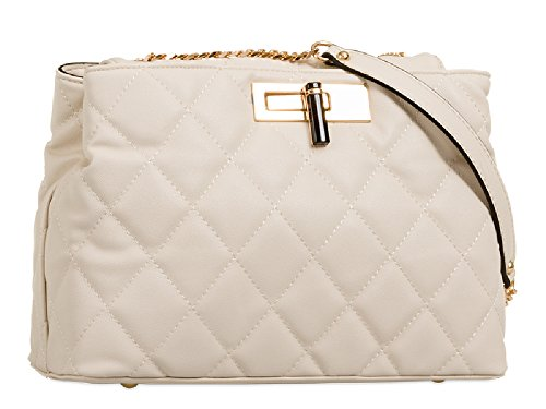 Quilted Handbag Evening Clutch Women's Party Bag Pink Ladies Faux Shoulder Leather KT657 zwEEqR
