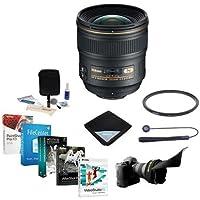 Nikon 24mm f/1.4G AF-S ED NIKKOR Lens Bundle with Wide Angle UV Filter & Pro Software
