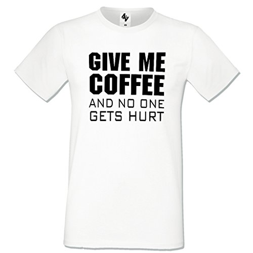 Cotton Sport shirt Shirt Tee Heavy Coffe Lettre 4sold Blanc T Homme Impression px8qnt7