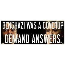 BENGHAZI COVERUP - Anti Obama Political Bumper Sticker