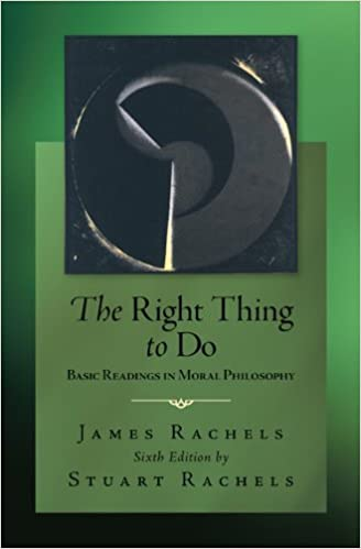 Amazon the right thing to do basic readings in moral the right thing to do basic readings in moral philosophy 6th edition fandeluxe Image collections