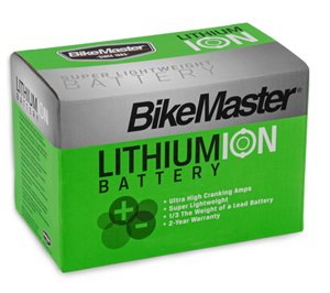 BikeMaster Lithium Ion Battery by BikeMaster