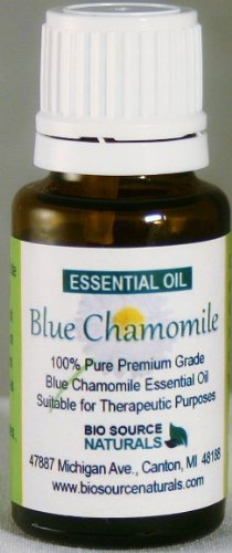 Blue Chamomile Pure Essential Oil 15 ml for Massage, Bruises, Eczema, Dermatitis