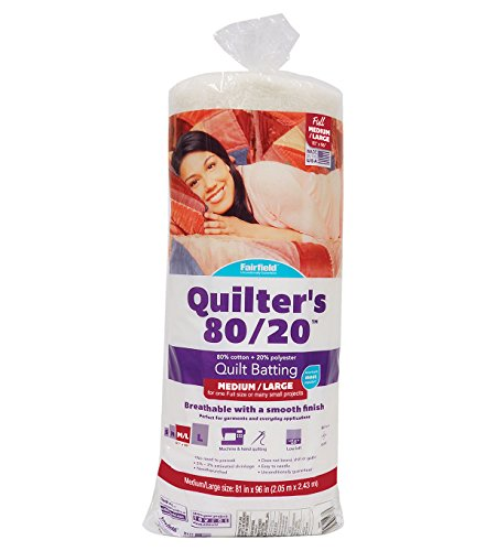 - Fairfield Quilter's 80/20 Full, 81
