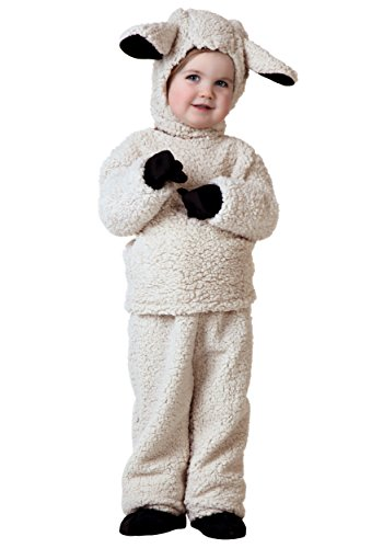 Toddler Sheep Costume 4T Tan