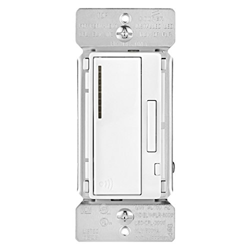 Aspire RF Accessory Smart Dimmer, _RF9542-ZDW (Decorator White), by ASPIRE RF Wireless by Eaton Wiring, Cert ID: ZC08-13010013 (Aspire Rf Smart Dimmer)