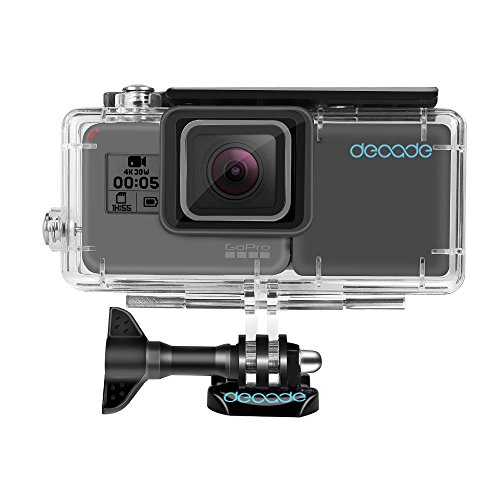 DECADE Extended Battery for GoPro Hero 6/5 Black Hero(2018),Rechargeable BacPac Battery with a Waterproof Housing Case