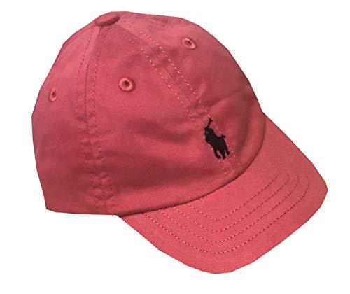 Ralph Lauren Infant Boys Pony Logo Hat Ball Cap (3M/9M, Light ()