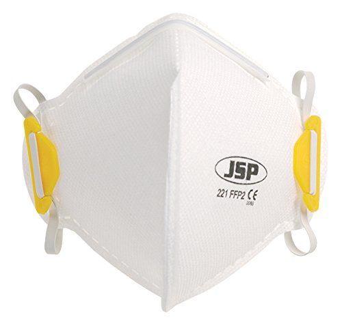 JSP bea120 –  101 –  000 –  Fold Flat Vertical Desechable Má scara, FFP2 AutoMotion Factors Limited BEA120-101-000