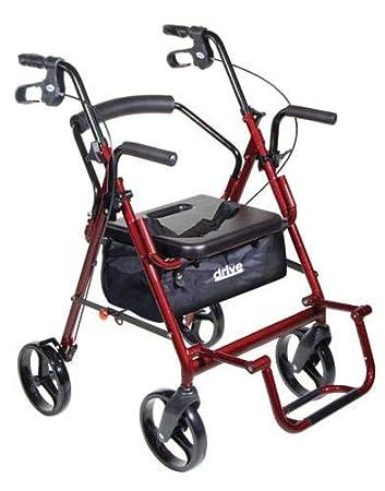 Amazon.com: Duet transporte silla y andador Combo – Borgoña ...