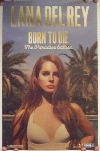 Lana Del Rey Poster Born To Die The Paradise Edition