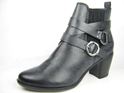 Laufsteg MünchenHW150605 - botas mujer negro - negro