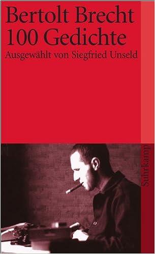 Hundert Gedichte Amazonde Bertolt Brecht Bã¼cher