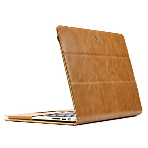 Original Urcover® Jison Mac-Book Tasche für Ihr 13 Zoll Macbook Air Retina Etui Schutz Hülle Tasche Aktentasche Case Cover Sleeve[DEUTSCHER FACHHANDEL] schwarz Braun 5c4upWt