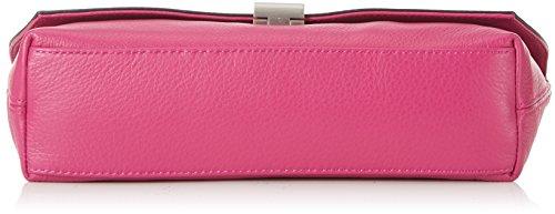 Calvin Klein Jeans K60K601073, Bandolera Para Mujer, Rosa (Berry 502), 5x8x31 cm (B x H x T)