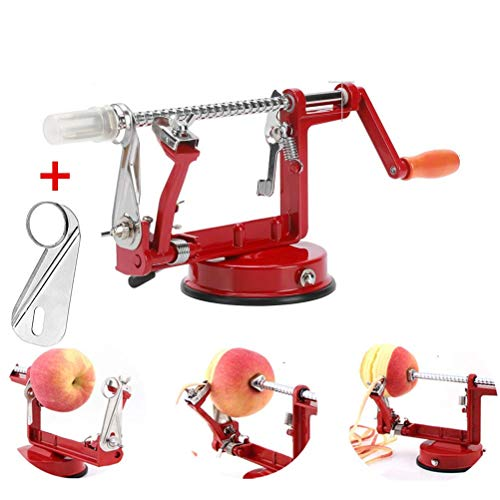 Apple Peeler Corer Stainless Steel Apple Corer Slicer Peeler Spiral