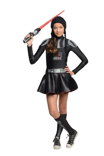 Star Wars Darth Vader Tween Costume Dress, Small