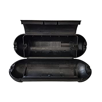 1 St/ück Stromstecker Kabel Verl/ängerung Outdoor Safebox Wasserdichte Schutzh/ülle f/ür Kabel IP44 Sicherheitsbox Schutzbox Safe-Box Schutzkapsel Regenschutz Schwarz