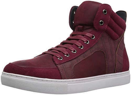 Anglais Blanchisserie Hommes Makin Fashion Sneaker Rouge