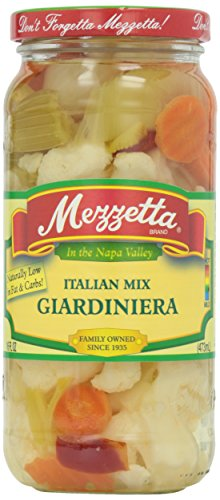 Mezzetta Giardiniera Pickled Vegetables, 16 oz