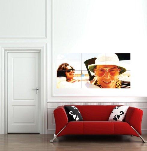 FEAR LOATHING LAS VEGAS MOVIE FILM JOHNNY DEPP DEL TORO HUNTER THOMPSON HUGE PRINT POSTER - Vegas Las Depp