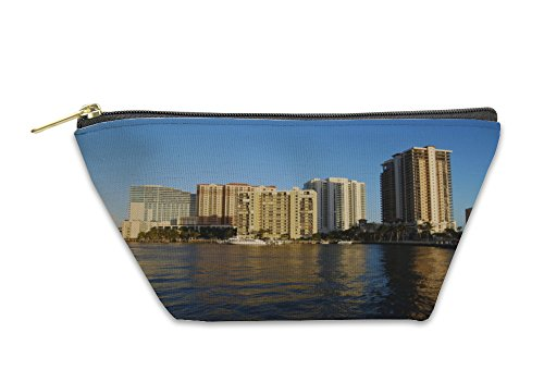 Gear New Accessory Zipper Pouch, Condos And Buildings In Fort Lauderdale Florid, Small, - Fort Stores Lauderdale In