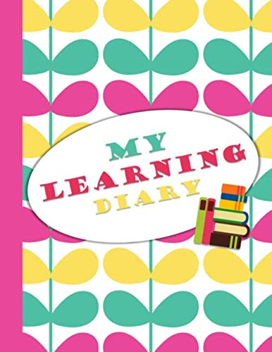 My Learning Diary: Independent Learning Project Journal for Elementary Kids Grades 2-5: Colorful Butterfly Wings Cover (4th Grade Math Project Based Learning Ideas)