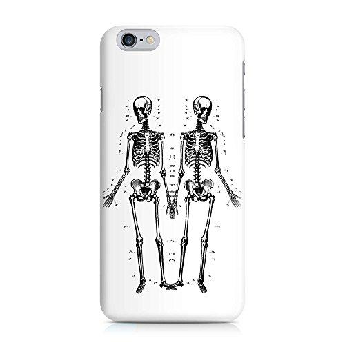 COVER Skelett Handy Hülle Case 3D-Druck Top-Qualität kratzfest Apple iPhone 6 / 6S