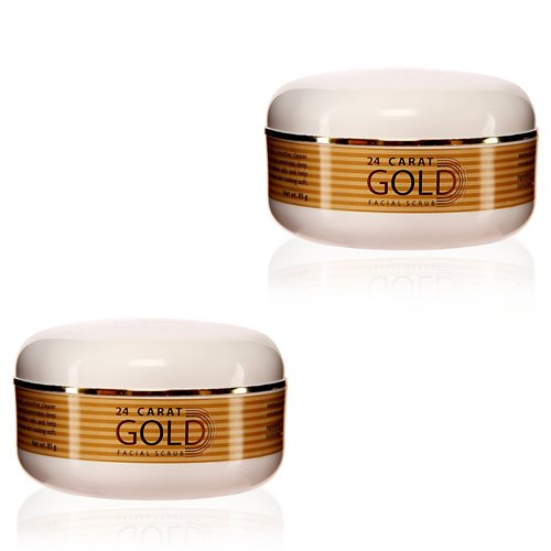 2-x-Jovees-24-Carat-Gold-Facial-Scrub-85g-Pack-of-2-Shipping-by-FedEx