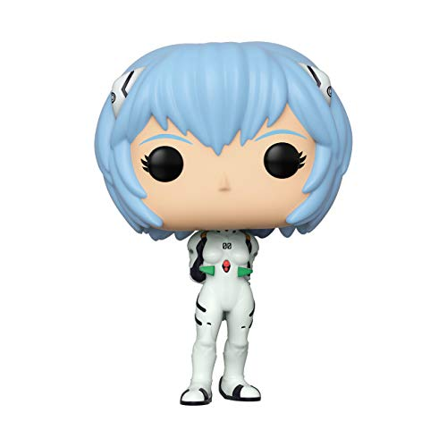 Funko- Pop Animation Evangelion-Rei Ayanami Neon Genesis Collectible Toy, Multicolor (45