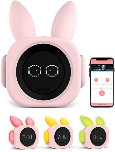 VOBOT Bunny Kids/Toddlers Smart Sleep Trainer with Amazon Alexa,...