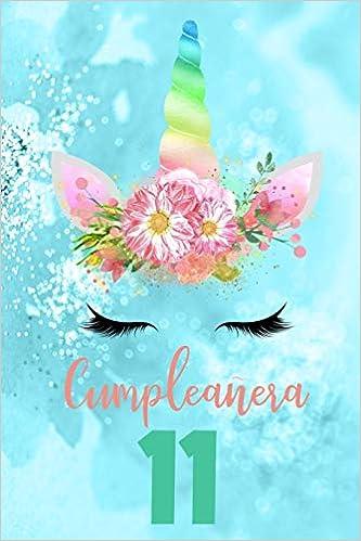 Amazon.com: Cumpleañera 11: Diario de Ninas Libreta de ...