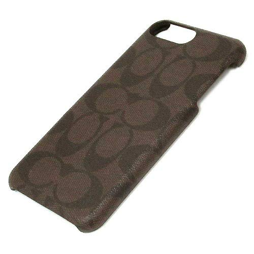 Coach Signature Coated Canvas Phone Case for iPhone 8 Plus/iPhone 7 Plus (Mahognay) ()