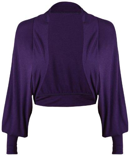 Purple Hanger - Torera - para mujer morado