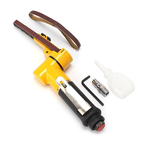 3 8 x 13 Air Belt Sander with 2 Belts 10mmx330mm