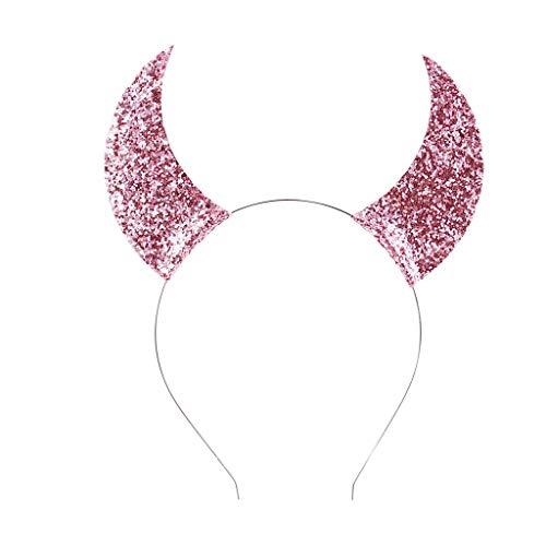 Popular Cosplay Ideas - FEDULK Women Girls Halloween Headband Shiny