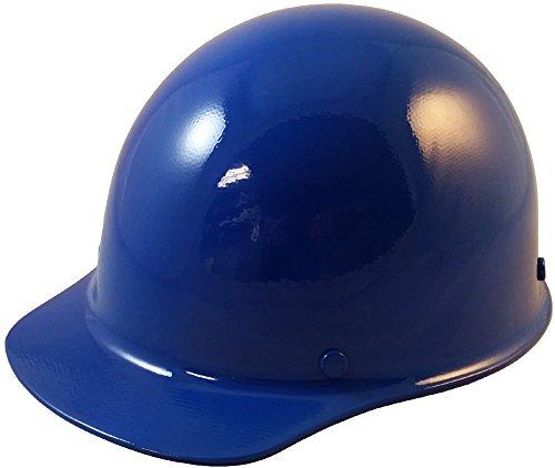 Msa Skullgard Cap - MSA Skullgard Cap Style Hard Hat With Ratchet Suspension - Custom Blue Color